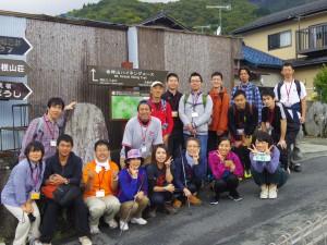 これから1213mの金時山に挑むメンバーです。